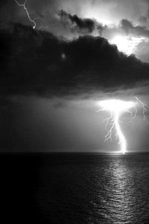 Dark Storm photography dark storm clouds blackandwhite lightening
