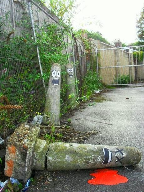 Silly street art story