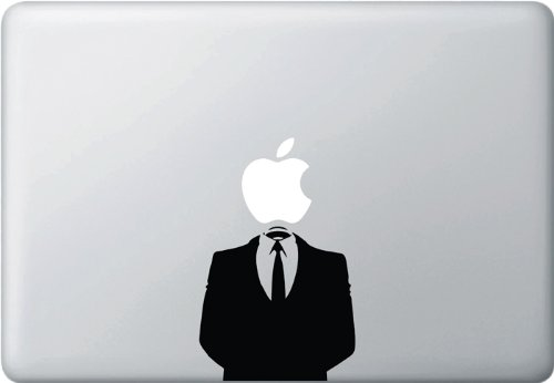 Anonymous-Macbook-Vinyl-Decal