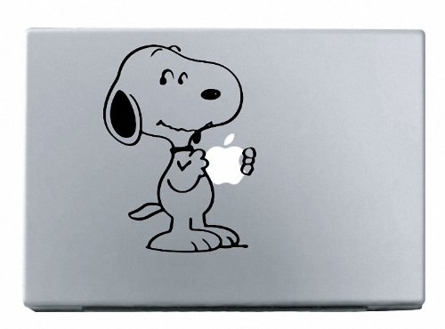 Snoopy-MacBook-Decal-Mac-Apple-skin-sticker