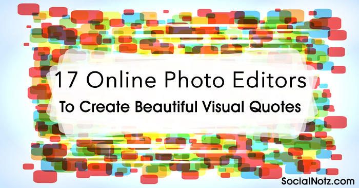 Picture Quote Maker Endearing Darksideadv  17 Online Photo Editors To Create Beautiful Visual
